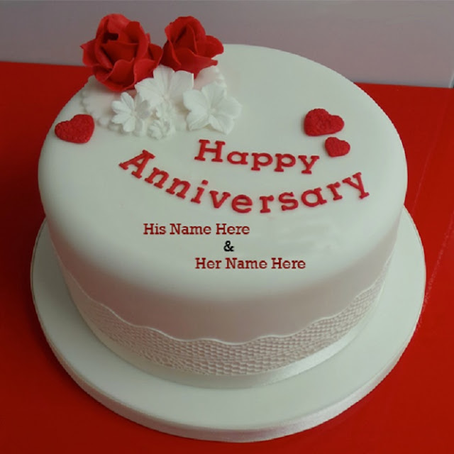 Happy anniversary cake images
