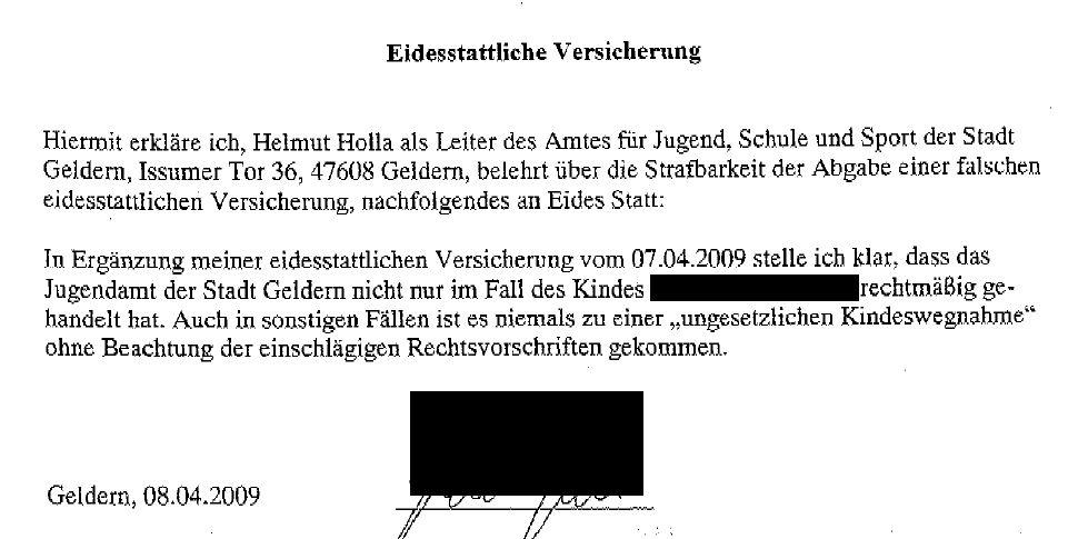 urteil umgangsausschluss 2011