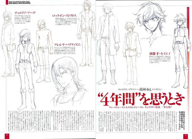 Gundam OO character design