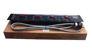 Power Rack 8 tomas para protección de tus equipos electrónicos.