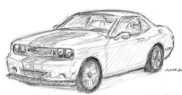 Stephen Lawson's Drawing on Inspiration: Sketch of Dodge