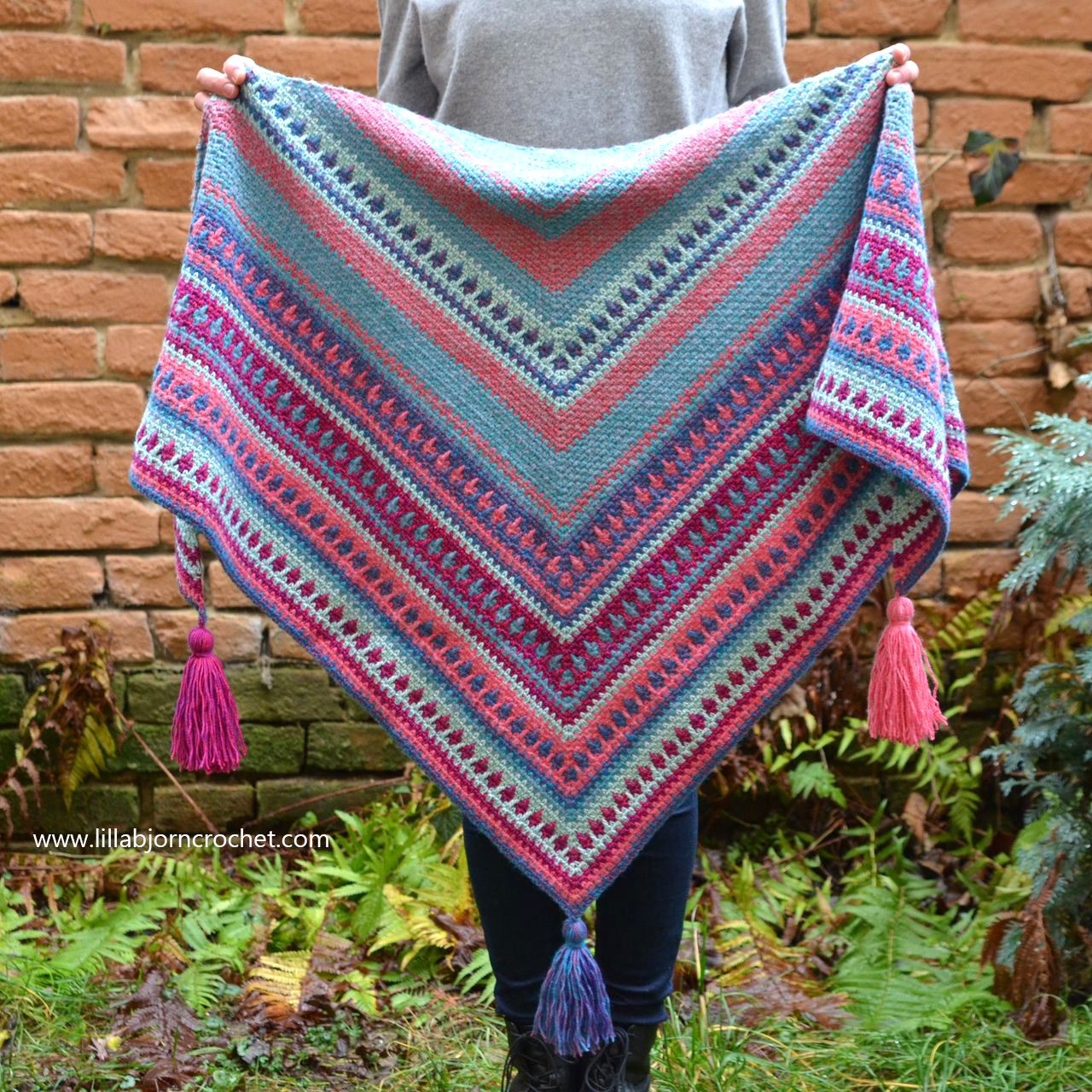 River Washed: new Shawl design is on its way | LillaBjrn ...