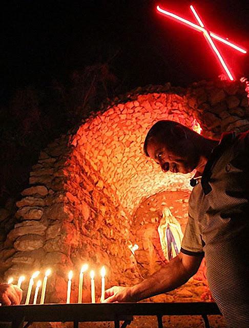 Na Síria, os católicos se voltam especialmente para Nossa Senhora de Lourdes