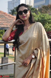 Angana Roy in Silk Saree at Teaching Tree Carnival .xyz 031.JPG