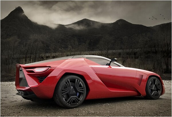 Bertone Mantide Super Car