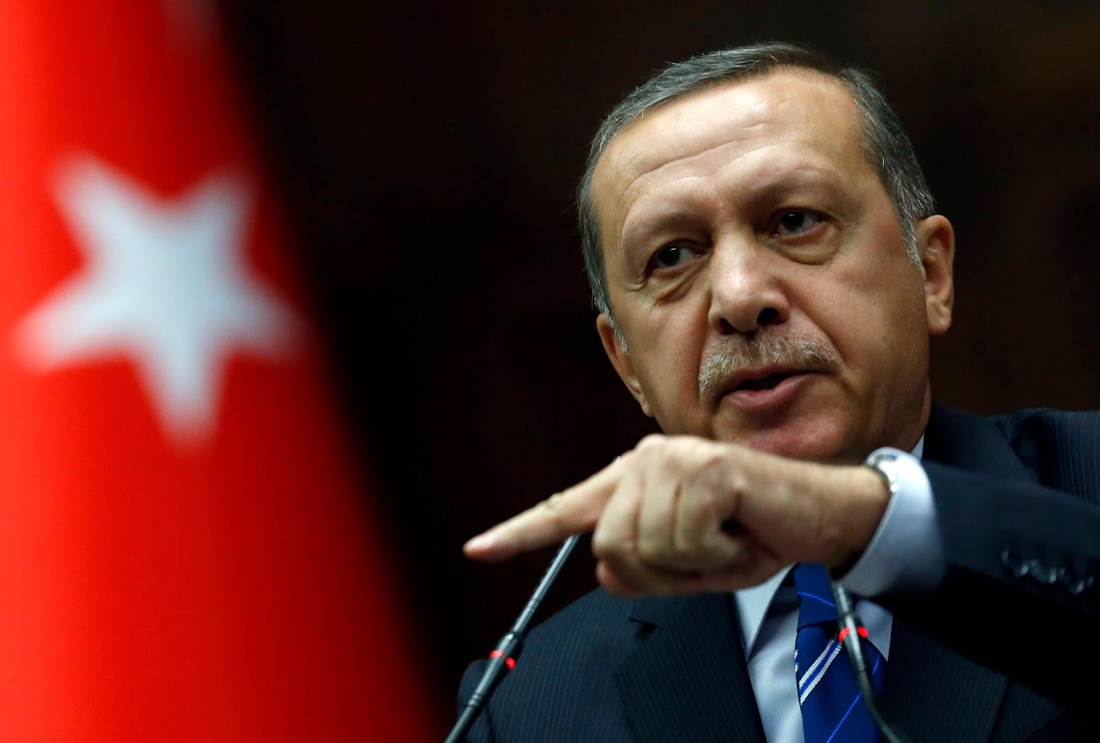 Erdogan: Hai Asad Sang Pembunuh, Kenapa Kamu Berlepas Tangan?