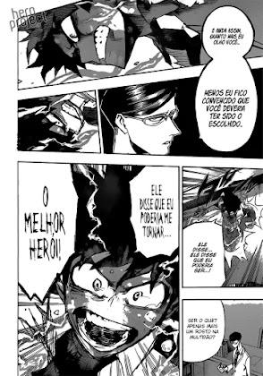 Mangá Boku No Hero Academia Capítulo 128