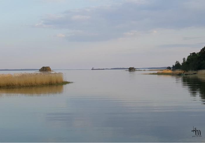 Ruissalon ranta kesäiltana - www.ladyofthemess.fi