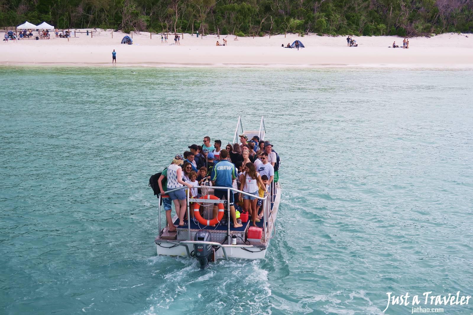 澳洲-聖靈群島-白天堂沙灘-白天堂海灘-景點-推薦-攻略-交通-自由行-遊記-必玩-必去-必遊-行程-一日遊-半日遊-旅遊-Whitsundays-Whitehaven-Beach-船