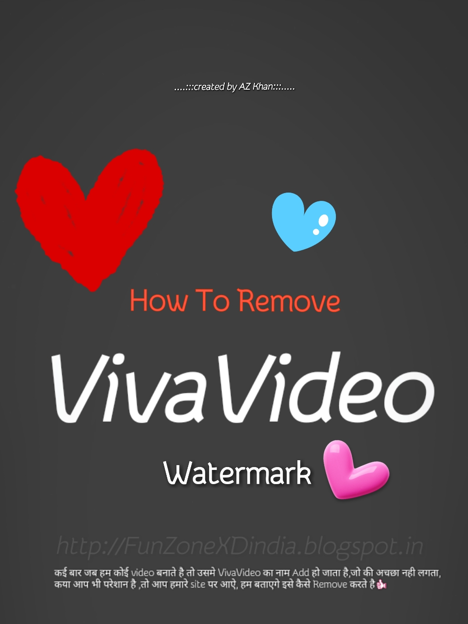 Viva Video Ka Watermark (Logo) Kese Hide Kare ((No Root)) 2017