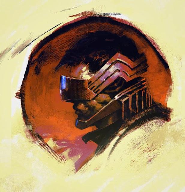 Arte cyberpunk, por Henry Bolle.