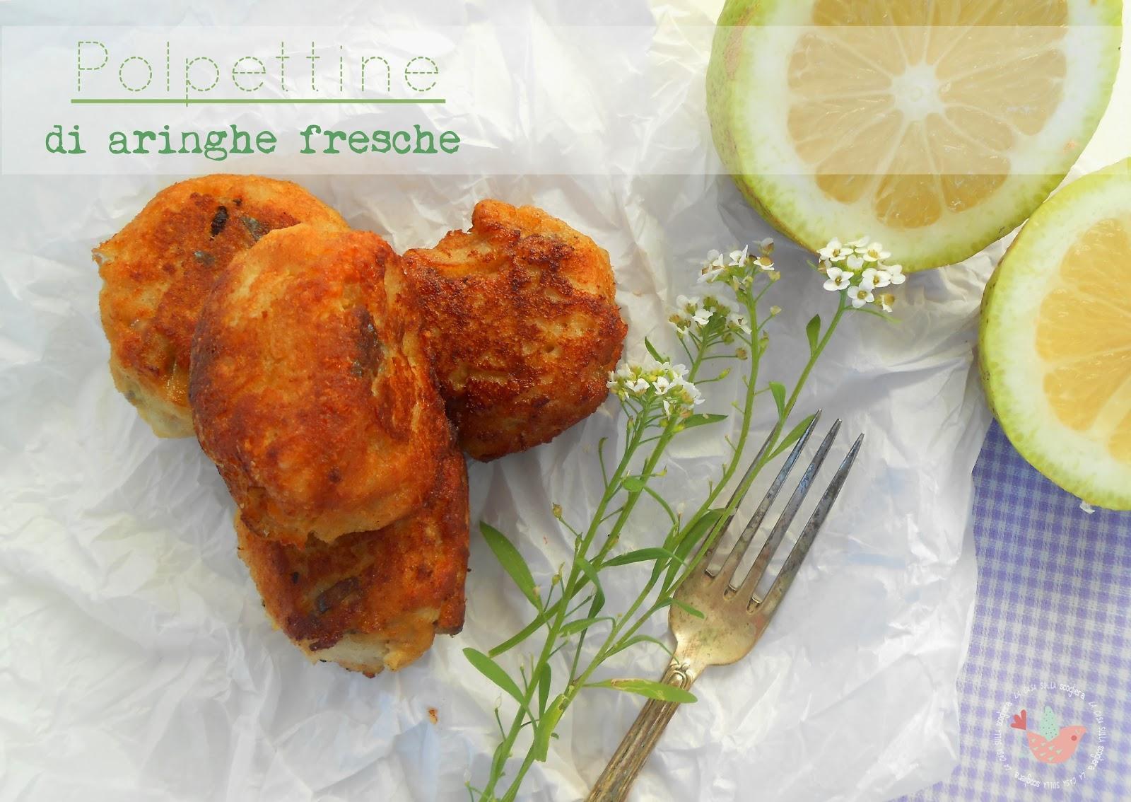Avete mai assaggiato le polpettine di aringhe fresche? La ricetta è qui, come sempre! www.lacasasullascogliera.net