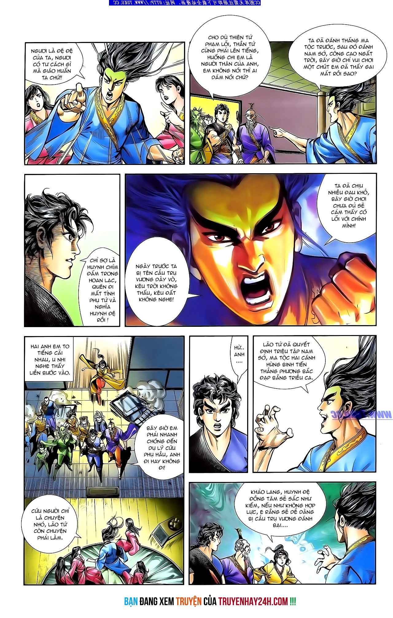 Cơ Phát Khai Chu Bản chapter 132 trang 28