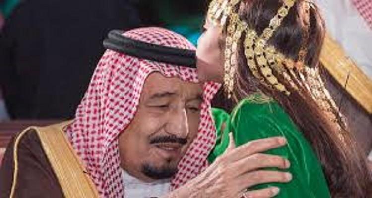 من تكون الطفلة التي قبّلت رأس الملك سلمان البارحة...مفاجأة صادمة !!!