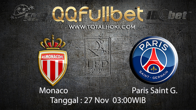 PREDIKSIBOLA - PREDIKSI TARUHAN BOLA MONACO VS PARIS SAINT GERMAIN 27 NOVEMBER 2017 (LIGUE 1)