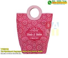 Tas Spunbond Pegangan Bulat Full Sablon Batik