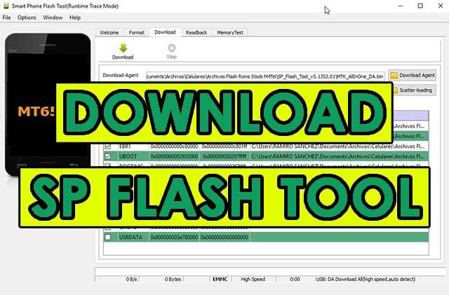 SP Flash Tool - Descargar la última versión