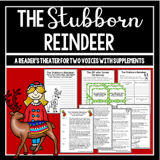 This reader's theater resource is for two voices and includes before, during and after reading activities.