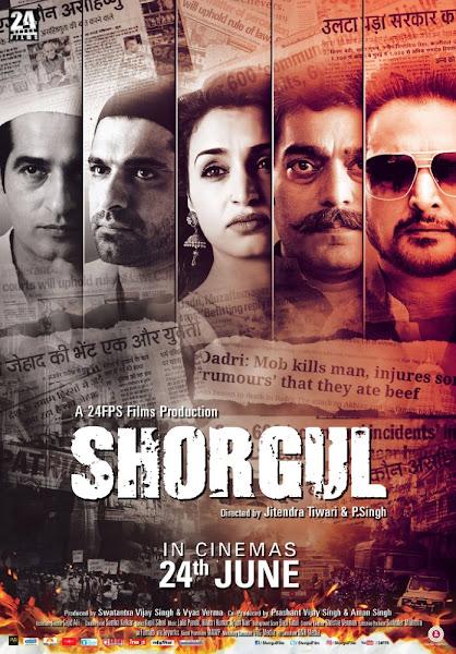 Poster Of Shorgul 2016 480p Hindi CAMRip Full Movie Download
