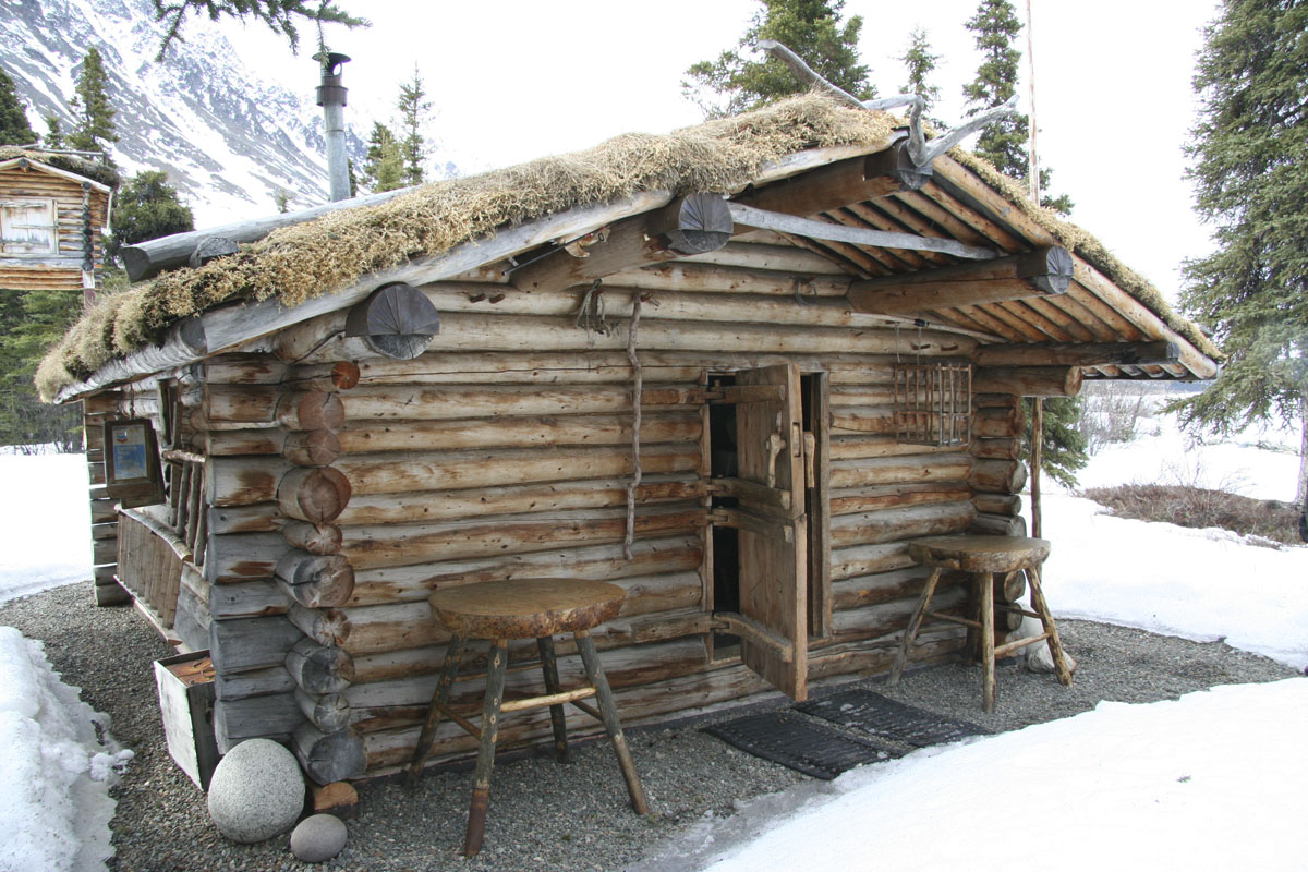 The log blog movies with log cabins in them richard for Alaska cottage