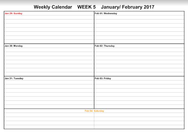 February 2017 Calendar, February 2017 Calendar Printable, February 2017 Printable Calendar, February 2017 Holiday Calendar, February 2017 Weekly Calendar, February Calendar 2017