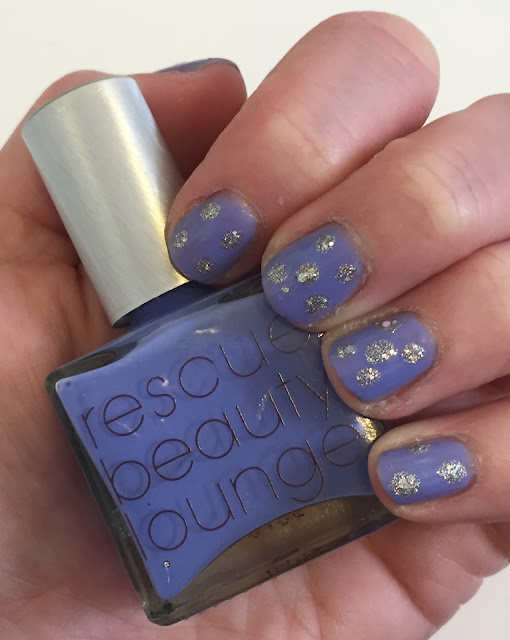 Dotticure Nail Art, Polka Dot manicure, Rescue Beauty Lounge Ah Oui, Zoya Magical PixieDust Cosmo, nails, nail polish, nail lacquer, nail varnish, #ManiMonday, manicure, nail art