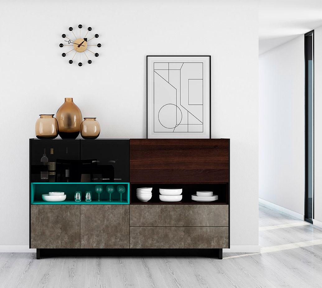 Muebles verge vive mueble bar colecci n on plus - Vive muebles ...