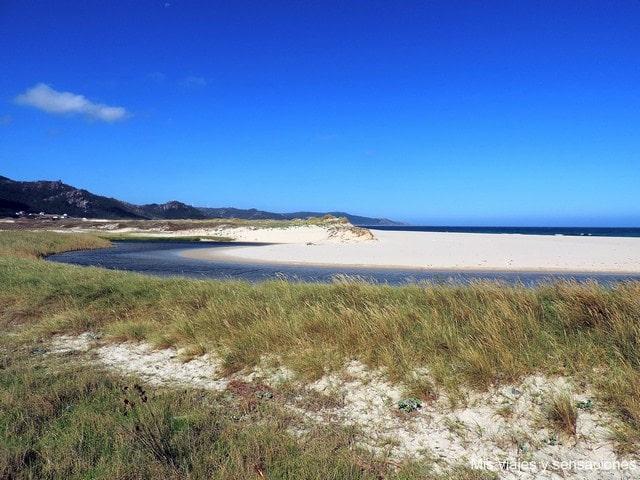 Laguna y Playa de Traba, Laxe, Galicia