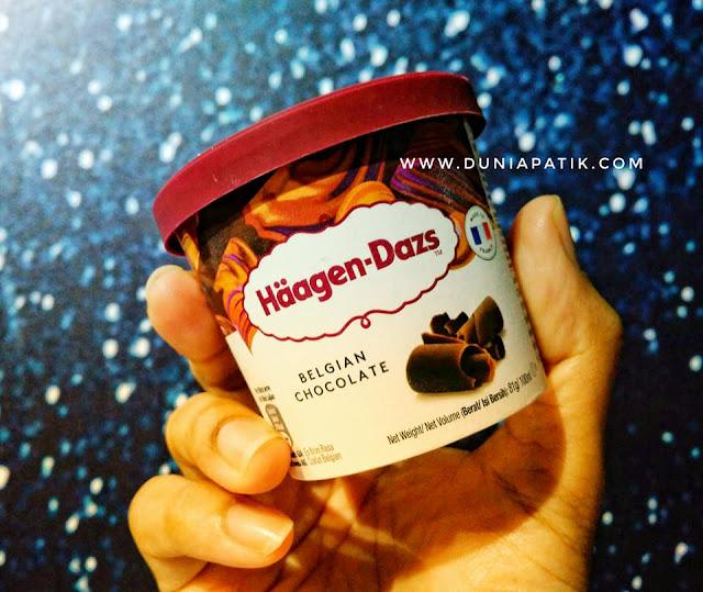 Haagen Dazs Belgian Chocolate
