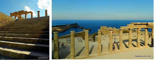 Acrópole dórica de Lindos - Ilha de Rodes - Grécia