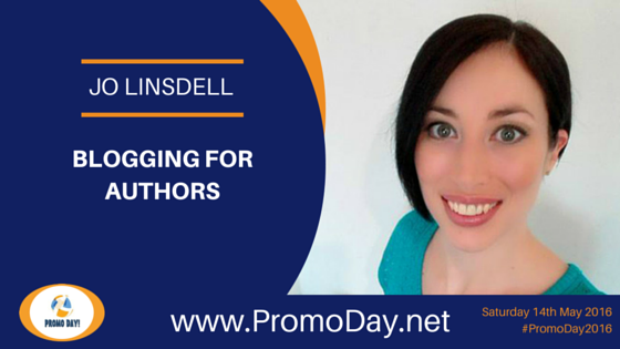 Jo Linsdell To Present Webinar at #PromoDay2016