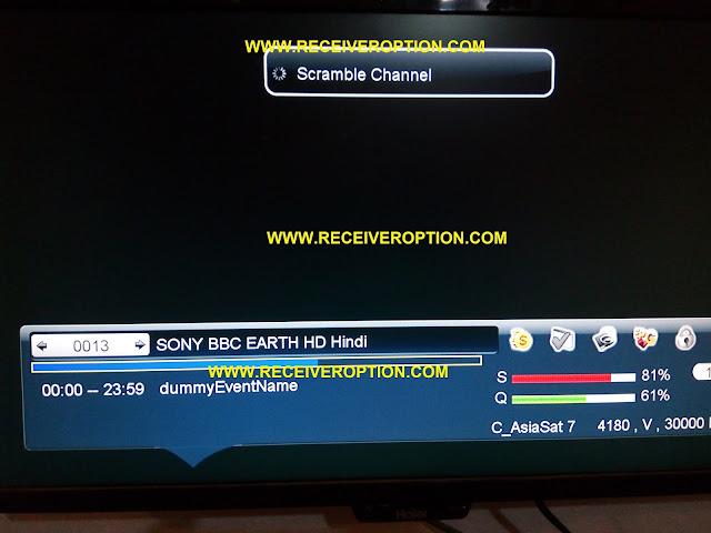 STAR SAT SR-2000 HD HYPER RECEIVER POWERVU KEY OPTION