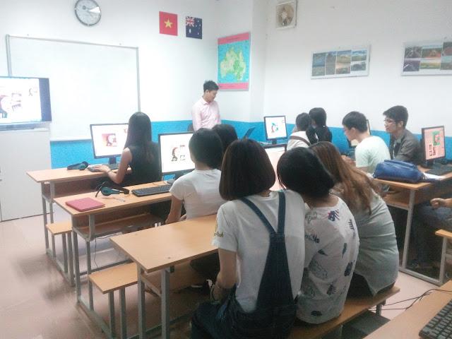 Các học viên trong khóa học lập trình wordpress