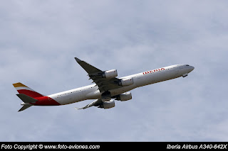 AVIÓN AIRBUS A340 EC-LEV