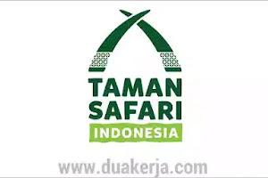 Lowongan Kerja Taman Safari Indonesia Tahun 2019