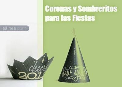 Corona en Pdf para ser los Reyes del Año Nuevo