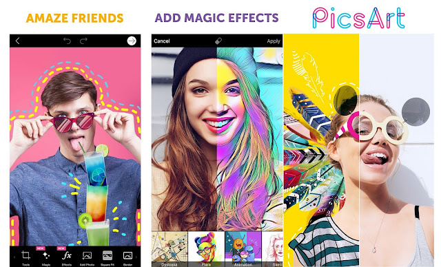 Download PicsArt - Photo Studio v7.9.1 Apk Premium Full Pack