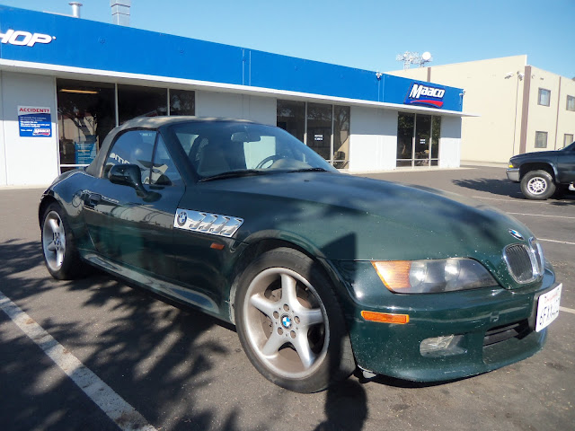 Almost Everything's Car of the Day is a 1998 BMW Z3--Before Painting