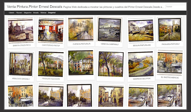 GALERIA DE ARTE-VENTA-PINTURA-PINTURAS-EXPOSICION-CUADROS-GALERIAS-PINTORES-ARTISTA-PINTOR-ERNEST DESCALS