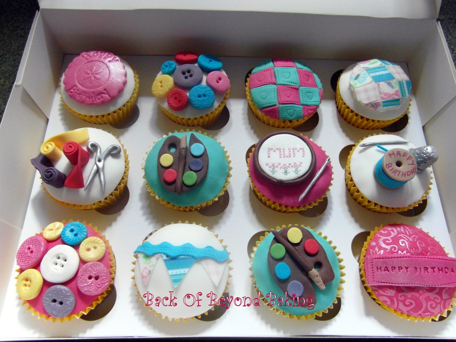 artists cupcakes