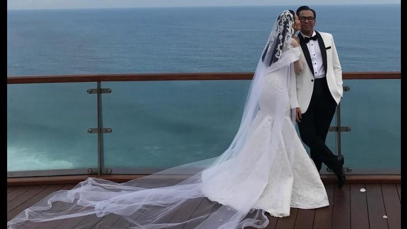 Pernikahan Sammy Simorangkir dan Viviane di Bali