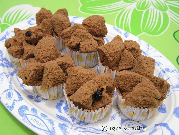 Resep Bolu Jadul Ny Liem: NCC BOLKUS WEEK: Brownies Kukus Mekar