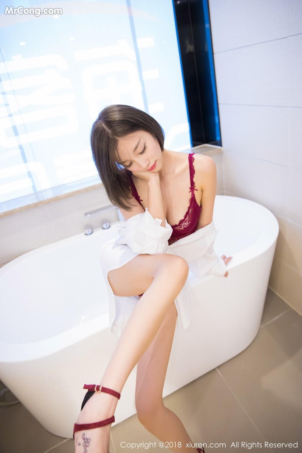 Image XIUREN-No.919-Yang-Chen-Chen-sugar-MrCong.com-047 in post XIUREN No.919: Người mẫu Yang Chen Chen (杨晨晨sugar) (55 ảnh)
