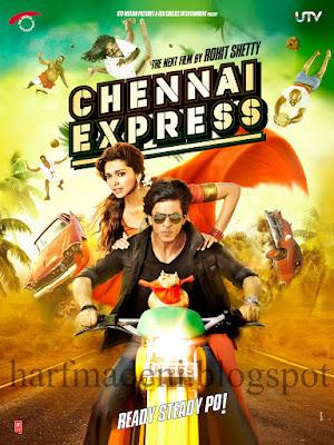 Chennai Express nam-ı diğer Aşk Treni !