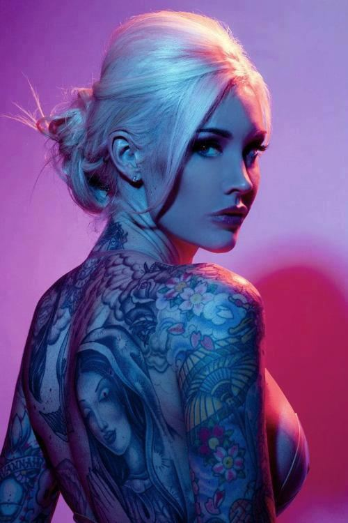 Inked Girl Hd Wallpaper Damn Cool Pictures Sexy Women With Tattoos