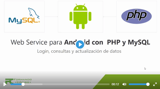 Curso Mega Web Service para Android con Php y Mysql, Login consultas y actualización de datos (Formando Código)