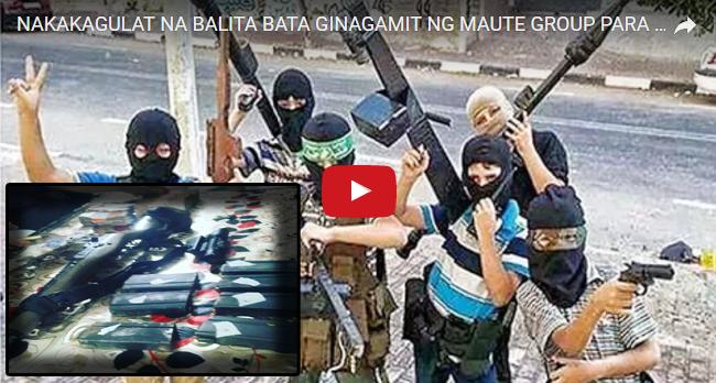 2tuMIyI SHOCKING! ILANG KABATAAN GINAGAMIT NG MGA MAUTE TERROR GROUP PARA MAGHASIK NG KARAHASAN SA EVACUEES SA MINDANAO...