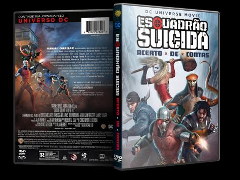 Capa DVD Esquadrão Suicida: Acerto de Contas [Custom]