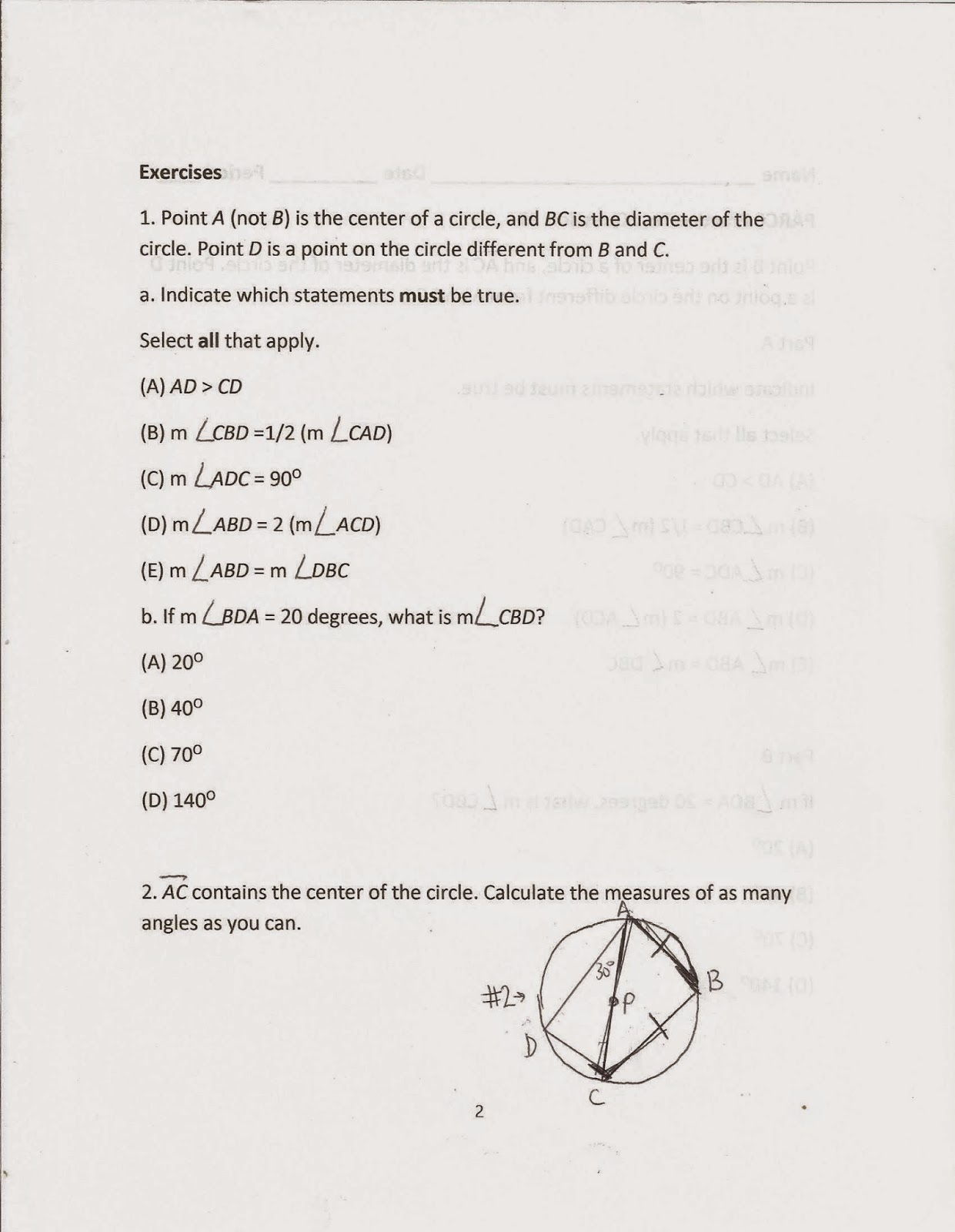 Finding X And Y Intercepts Worksheet Day 1 Answers
