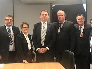 Diretores da Abavar se reúnem com Presidente Jair Bolsonaro em Brasilia